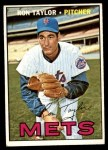 1967 Topps #606  Ron Taylor  Front Thumbnail