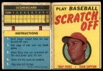 1971 Topps Scratch Offs #16  Tony Perez  Front Thumbnail
