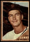 1962 Topps #71  Dick LeMay  Front Thumbnail