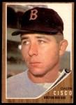 1962 Topps #301  Galen Cisco  Front Thumbnail