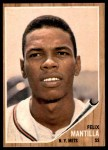 1962 Topps #436  Felix Mantilla  Front Thumbnail