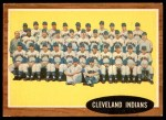 1962 Topps #537   Indians Team Front Thumbnail