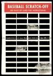 1970 Topps Scratch Offs #22  Mel Stottlemyre  Back Thumbnail