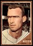 1962 Topps #190 xCAP Wally Moon   Front Thumbnail
