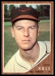 1962 Topps #189 NRM Dick Hall  Front Thumbnail