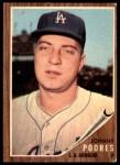 1962 Topps #280  Johnny Podres  Front Thumbnail