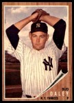 1962 Topps #376  Bud Daley  Front Thumbnail