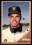1962 Topps #519  Bob Johnson  Front Thumbnail