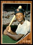 1962 Topps #590  Curt Flood  Front Thumbnail