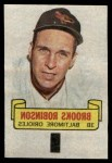 1966 Topps Rub Offs   Brooks Robinson   Front Thumbnail