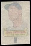 1966 Topps Rub Offs   Ron Swoboda   Back Thumbnail