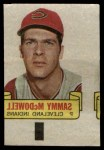 1966 Topps Rub Offs   Sam McDowell   Front Thumbnail