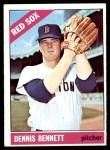 1966 Topps #491  Dennis Bennett  Front Thumbnail