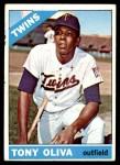 1966 Topps #450  Tony Oliva  Front Thumbnail