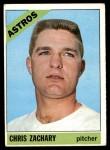 1966 Topps #313  Chris Zachary  Front Thumbnail