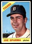 1966 Topps #267  Joe Sparma  Front Thumbnail