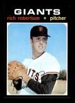 1971 Topps #443  Rich Robertson  Front Thumbnail