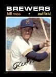 1971 Topps #671  Bill Voss  Front Thumbnail