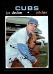 1971 Topps #98  Joe Decker  Front Thumbnail