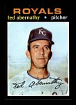 1971 Topps #187  Ted Abernathy  Front Thumbnail