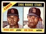 1966 Topps #179   -  Bobby Tolan / Dennis Aust Cardinals Rookies Front Thumbnail
