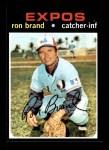 1971 Topps #304  Ron Brand  Front Thumbnail