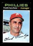 1971 Topps #119  Frank Lucchesi  Front Thumbnail