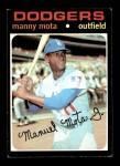 1971 Topps #112  Manny Mota  Front Thumbnail