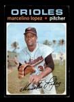 1971 Topps #137  Marcelino Lopez  Front Thumbnail