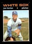 1971 Topps #345  Joe Horlen  Front Thumbnail