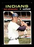 1971 Topps #347  Ted Uhlaender  Front Thumbnail