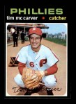 1971 Topps #465  Tim McCarver  Front Thumbnail