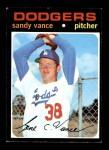 1971 Topps #34  Sandy Vance  Front Thumbnail
