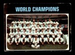 1971 Topps #1   World Champions - Orioles Team Front Thumbnail