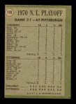 1971 Topps #199   -  Ty Cline / Rich Hebner 1970 NL Playoffs - Game 1 - Cline Pinch-Triple Decides It Back Thumbnail