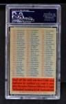 1956 Topps   Checklist - Series 2/4 Back Thumbnail