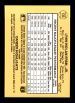 1987 Donruss #138  Nolan Ryan     Back Thumbnail