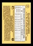 1987 Donruss #276  Roger Clemens  Back Thumbnail