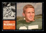 1962 Topps #116  Tommy McDonald  Front Thumbnail