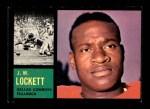 1962 Topps #40  J.W. Lockett  Front Thumbnail