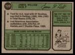 1974 Topps #122  Jim Holt  Back Thumbnail