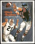 1970 Topps Poster #11  Dick Butkus  Front Thumbnail