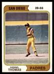 1974 Topps #518  Derrel Thomas  Front Thumbnail