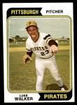 1974 Topps #612  Luke Walker  Front Thumbnail