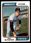 1974 Topps #98  Bert Blyleven  Front Thumbnail