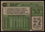 1974 Topps #29  Phil Niekro  Back Thumbnail