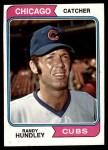 1974 Topps #319  Randy Hundley  Front Thumbnail