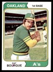 1974 Topps #141  Pat Bourque  Front Thumbnail