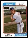 1974 Topps #63  Bill Sudakis  Front Thumbnail