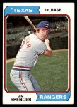 1974 Topps #580  Jim Spencer  Front Thumbnail